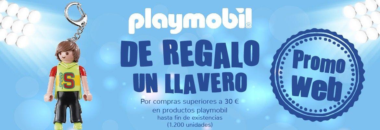 Llavero playmobil de regalo con 30€ de compra