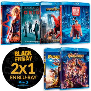2x1 en Películas Blu-ray en Game desde 4,95€
