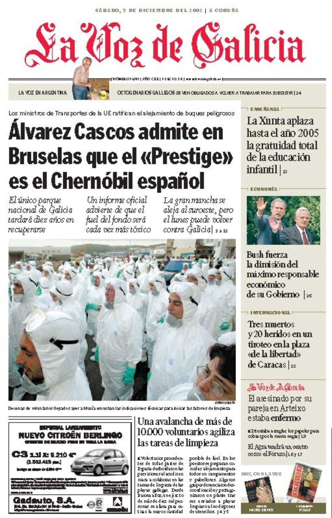 Subscripción 2 meses a La Voz de Galicia