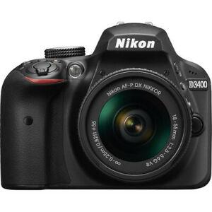 Nikon D3400 AF-P 18-55mm VR Black Kit