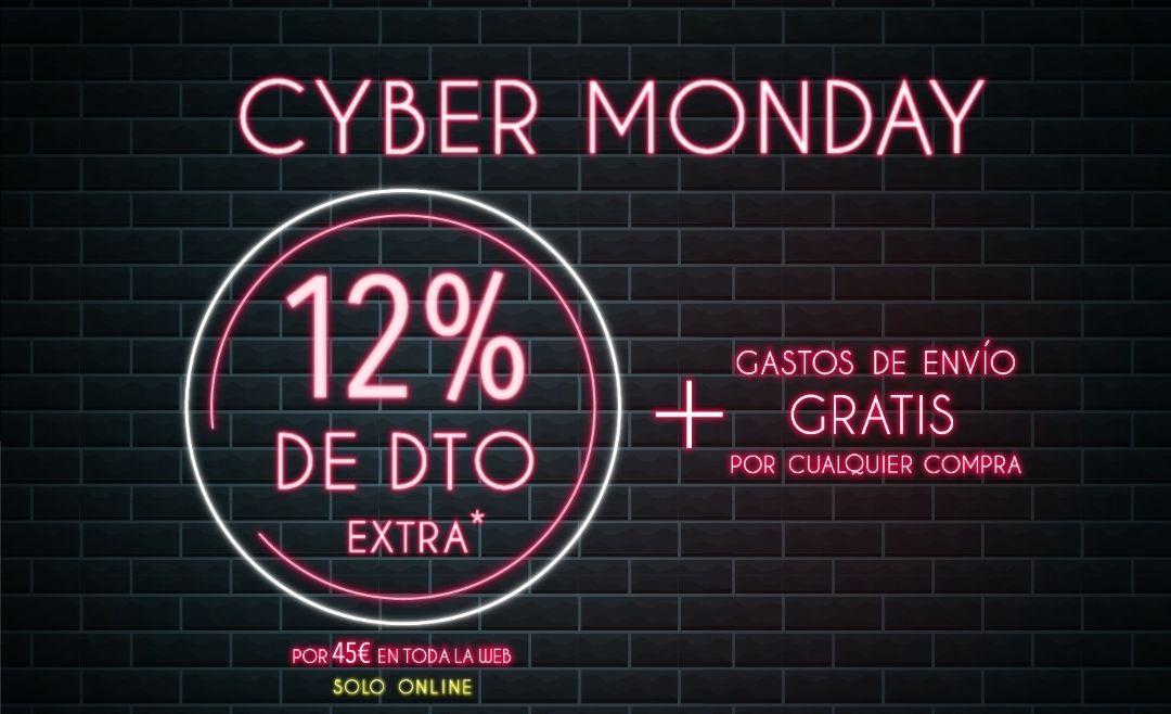12% EXTRA en compras de +45€
