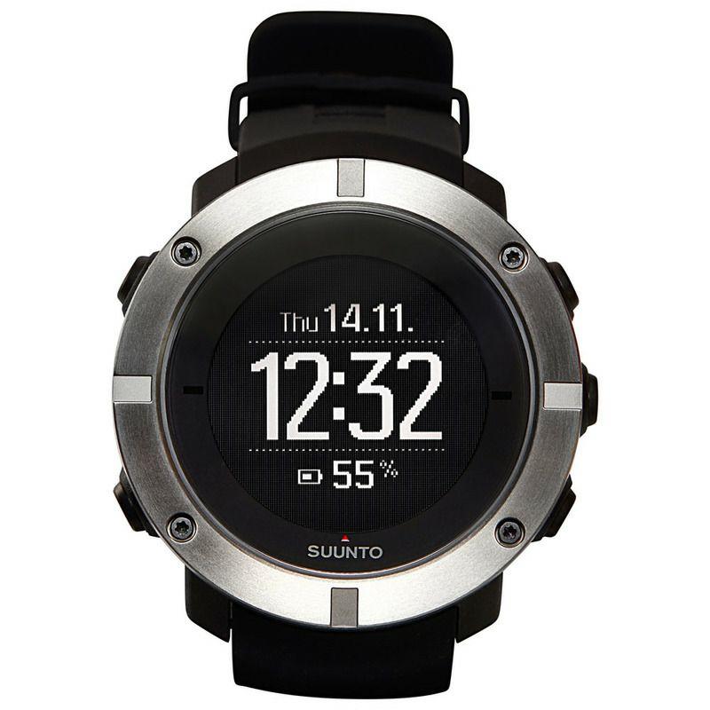 SUUNTO Reloj con GPS Ambit3 Vertical Multisport (Negro)