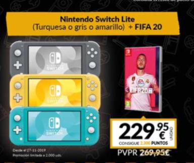 Nintendo switch lite + fifa 229,95€