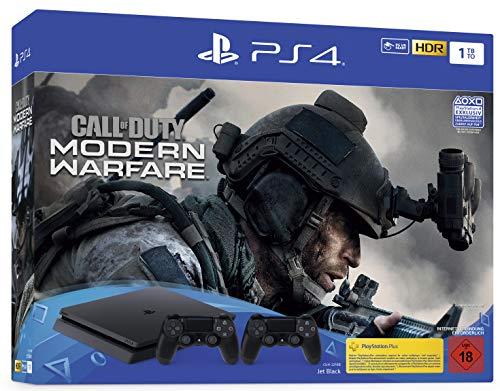 Playstation 4 Slim 1 TB + COD MW + Segundo Dualshock