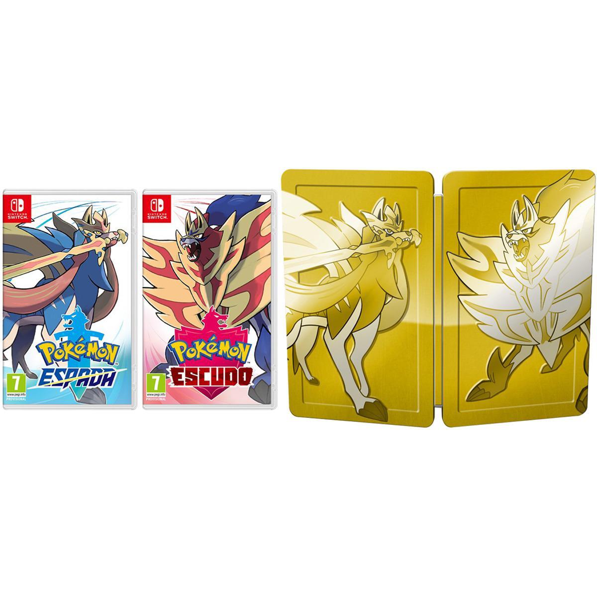 Pokémon Escudo/ Espada Pack Dual Switch