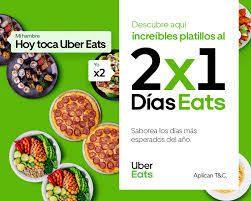 2×1 en Pomodoro con Uber Eats