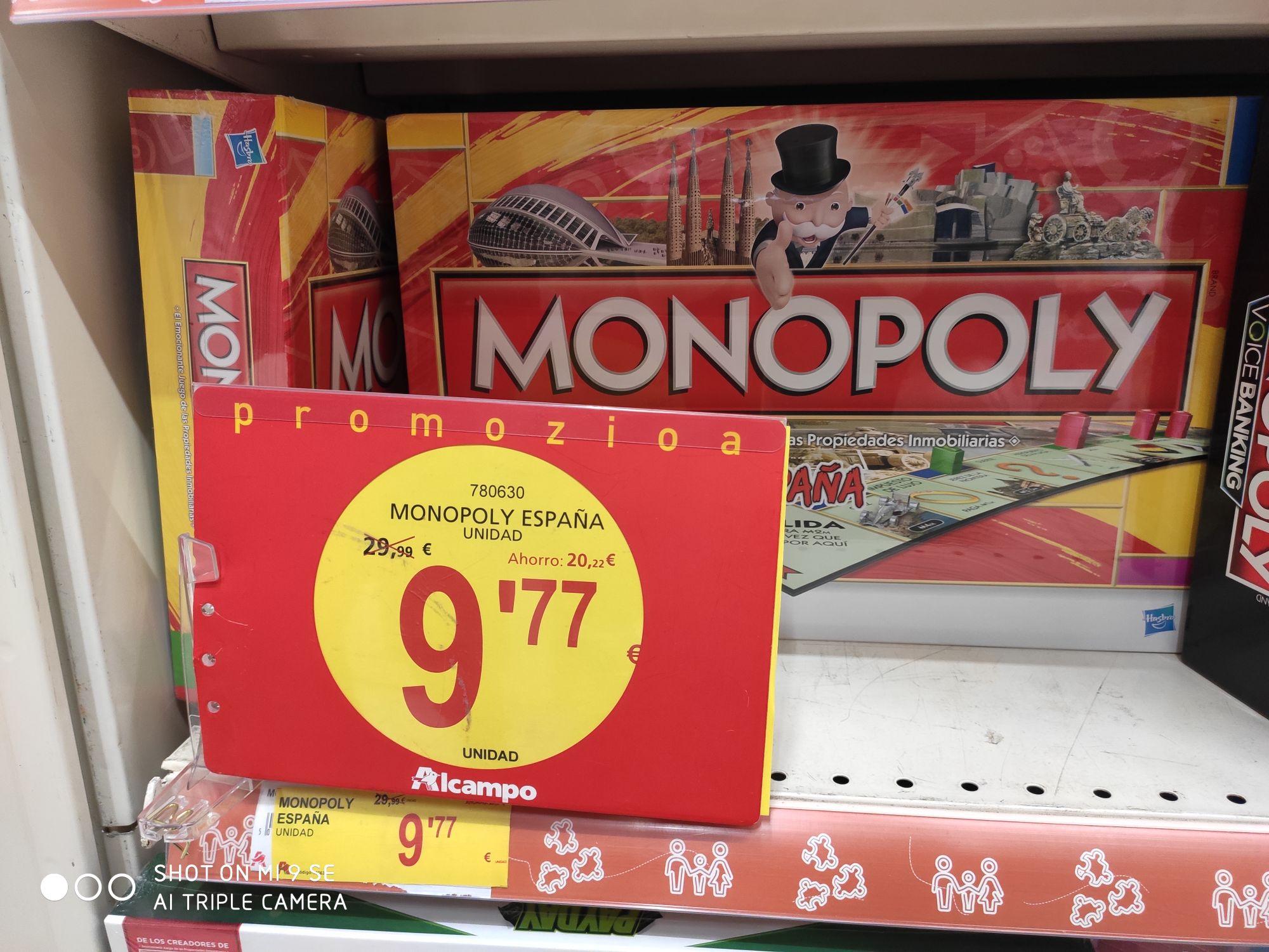 Monopoly España (Alcampo Oiartzun)