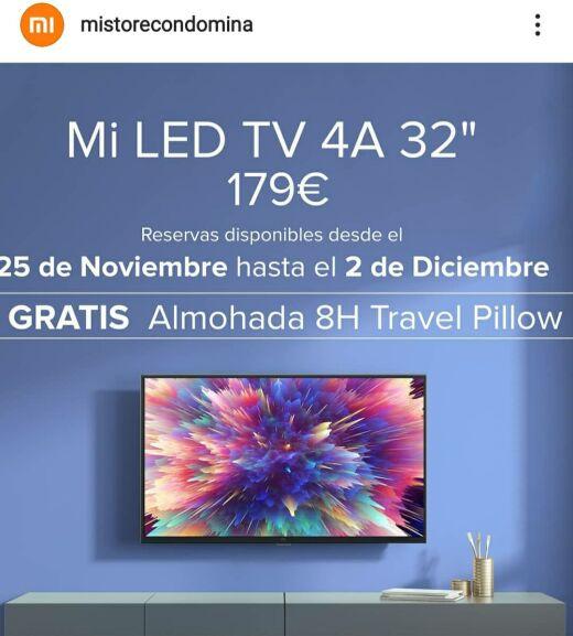 Televisores Xiaomi con Regalo(Mi store del centro comercial nueva condomina, Murcia)