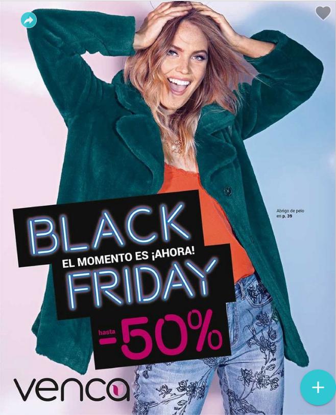 Black Friday en Venca con Descuentos Hasta 50%