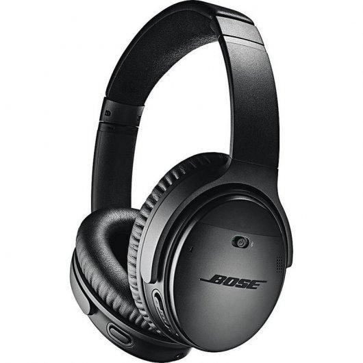 Bose QuietComfort 35 II Auriculares Inalámbricos con Cancelación de Ruido Negro