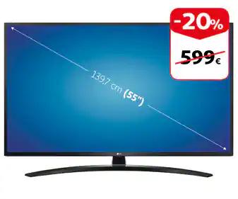 Televisor LG55 pulgadas UM7450
