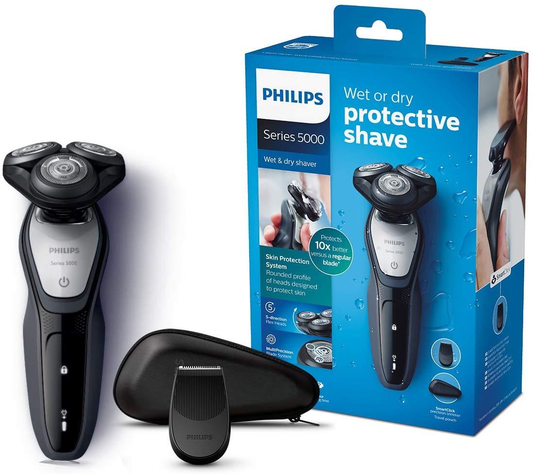 Philips SHAVER Series 5000 S5290/12 - Afeitadora (Máquina de afeitar de rotación, SH50, (REACONDICIONADO)