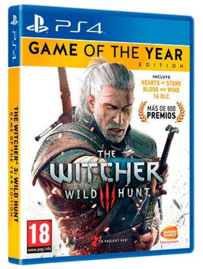 Sony PS4 The Witcher 3: Wild Hunt GOTY edition – Videojuego