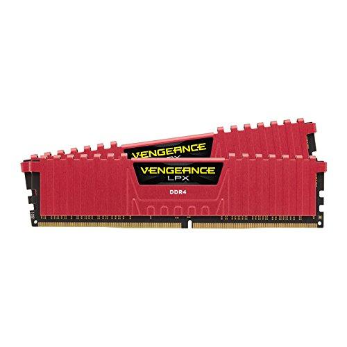 Corsair Vengeance LPX - Módulo de memoria XMP 2.0 (2 x 8 GB, DDR4, 2400 MHz, C16) de 16 GB
