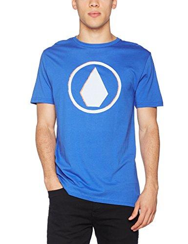 (En 2 Colores) - TALLA S - Volcom Burnt BSC SS Camiseta, Hombre