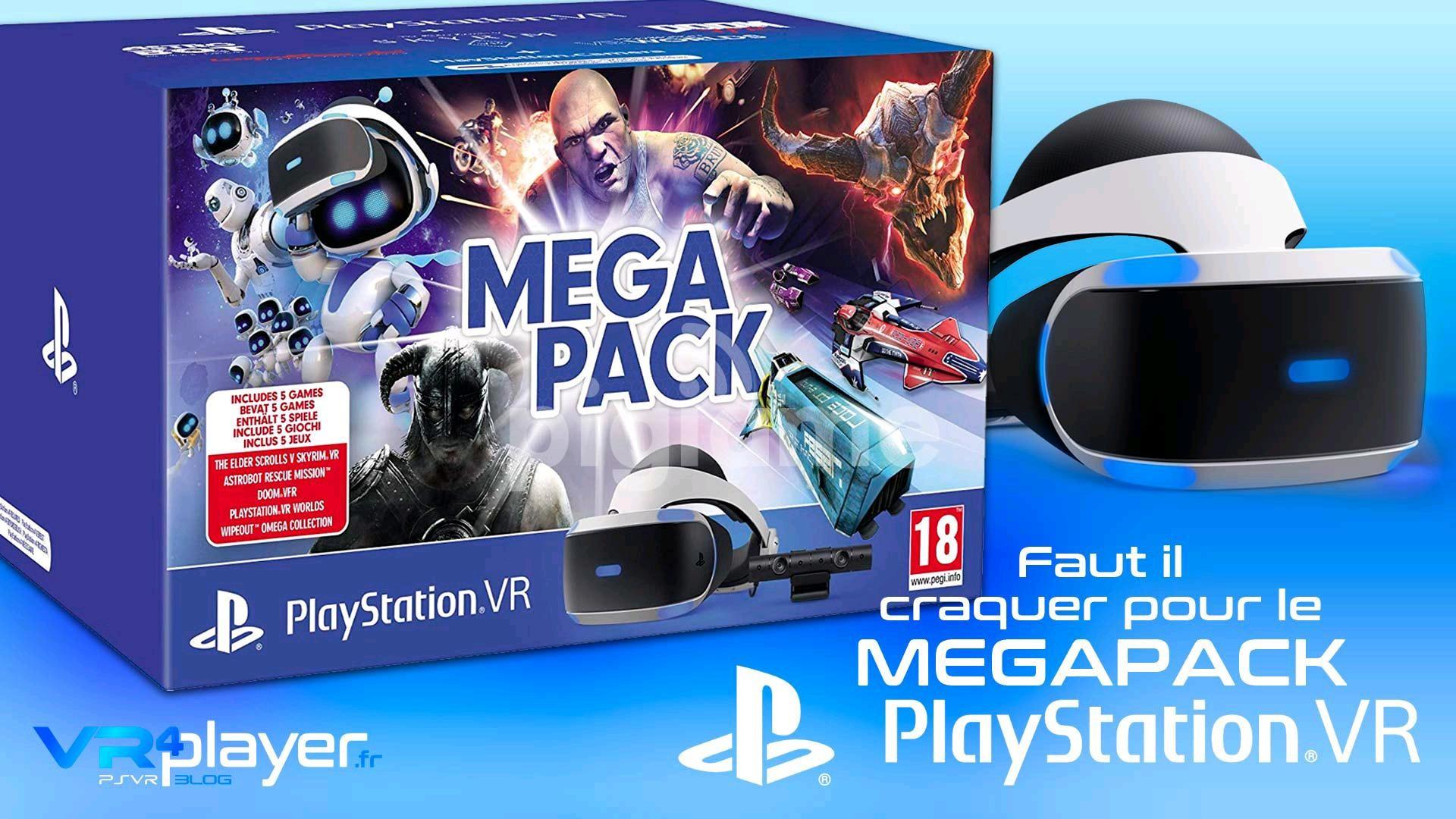 Mega Pack VR PlayStation 4 (PSVR + 5 JUEGOS)