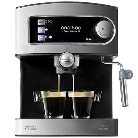 Cafetera Cecotec Power Espresso 20 - Cafetera, , Inoxidable, depósito 1,5 litros, 850 W,