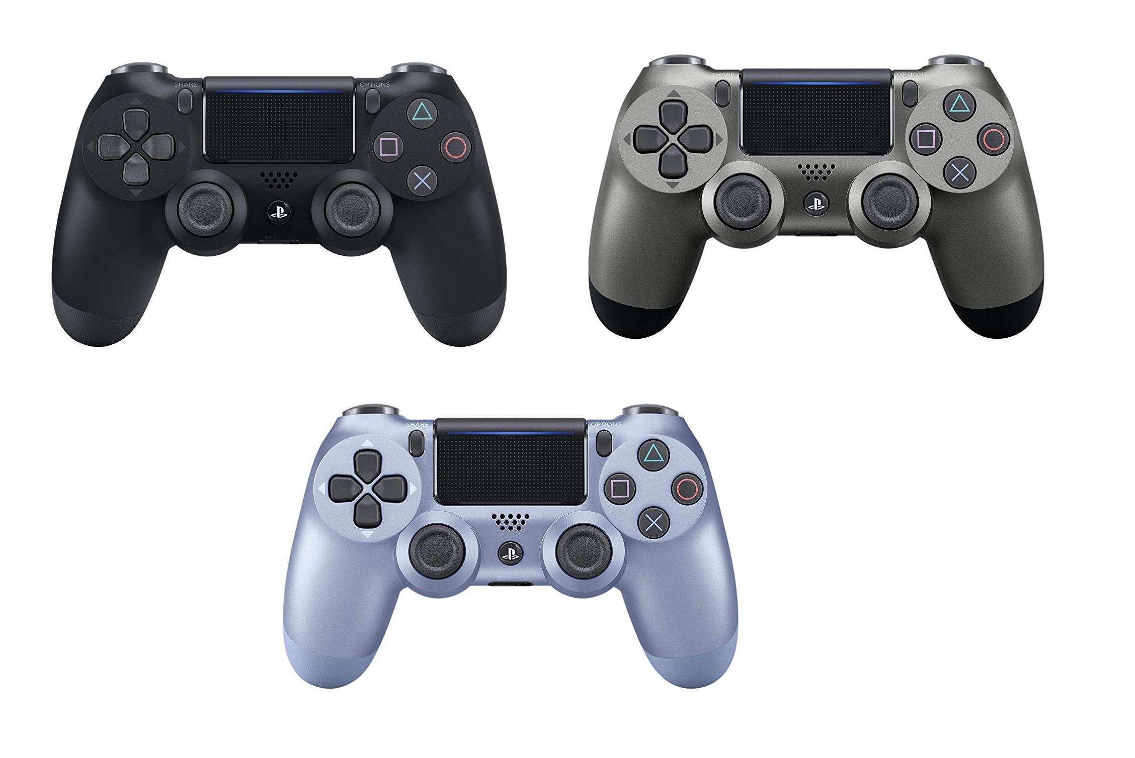 3x Dualshock 4 Playstation solo 69€