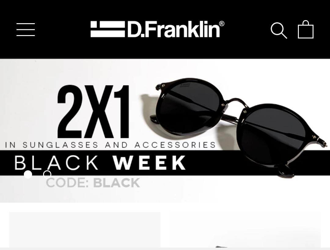 2x1 en gafas de sol de la marca D.Franklin