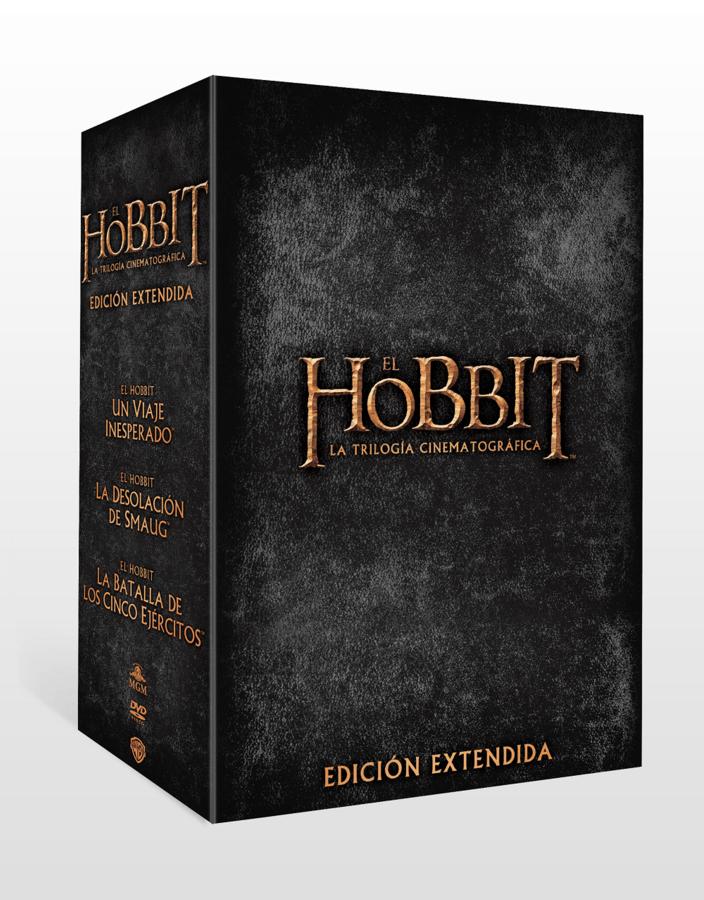 Trilogía Hobbit - Edición Extendida- DVD