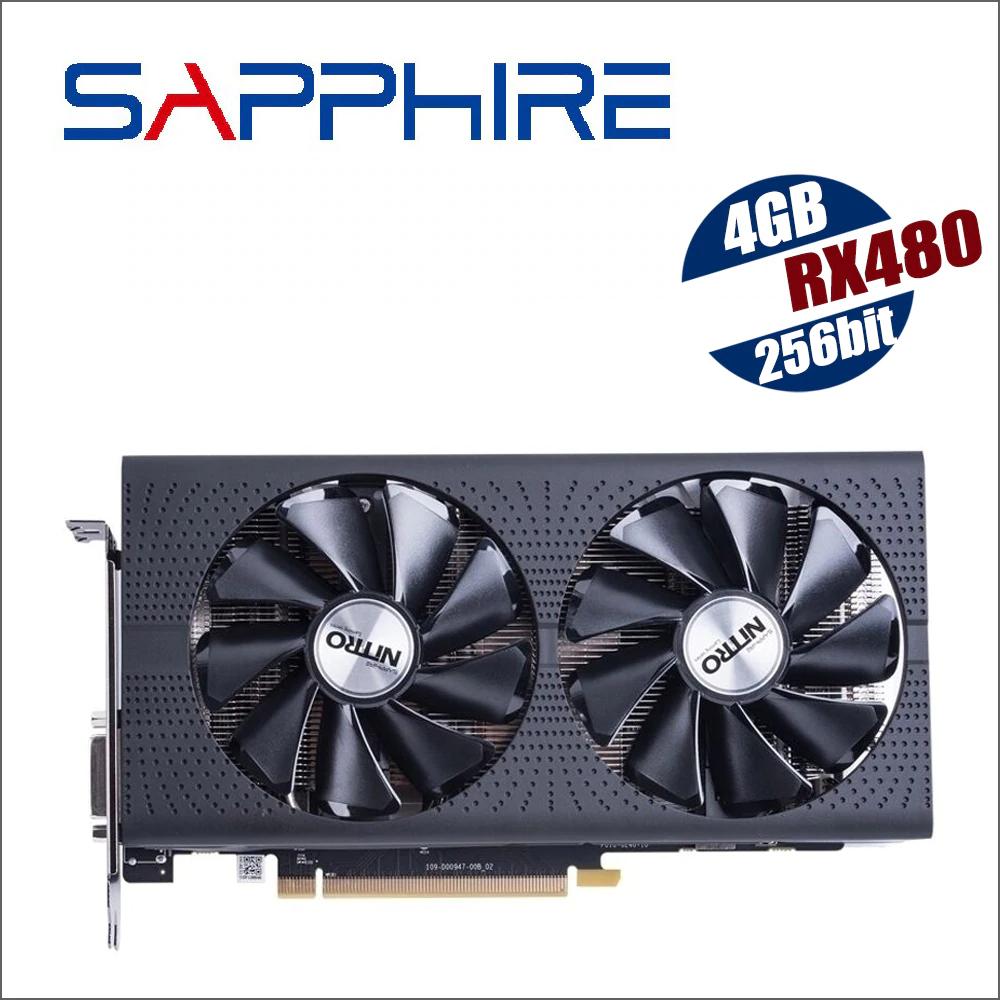 SAPPHIRE Radeon RX 480 Nitro 4gb usada