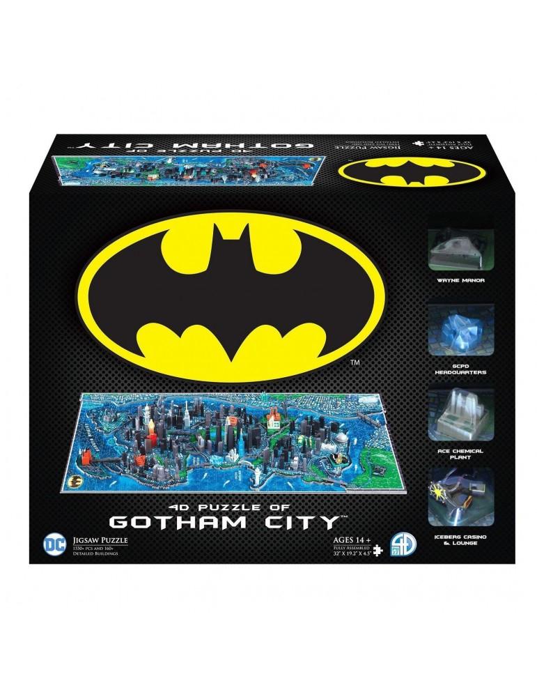 Puzzle 4D Batman: Large Gotham City (1550+piezas)