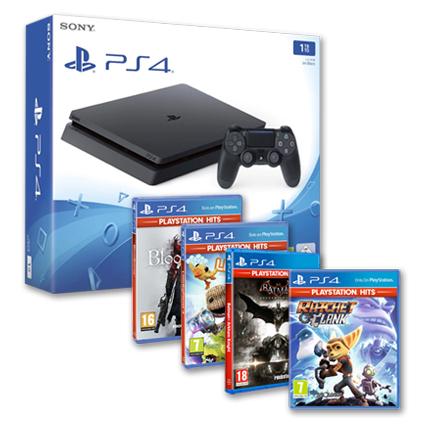 Playstation 4 + Juego de regalo desde 199€