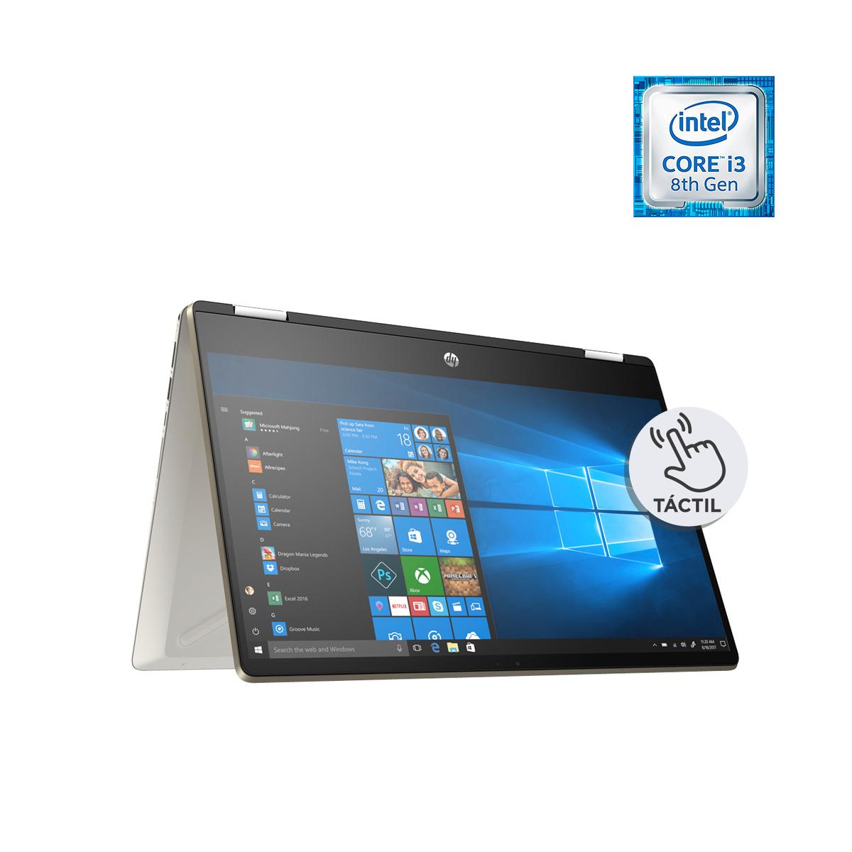 Convertible HP Pavilion 14-dh0001ns x360, i3, 8 GB, 256 GB SSD