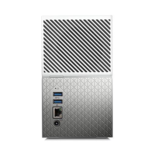 Western Digital My Cloud Home Duo - Almacenamiento en Red NAS de 8 TB, 2 bahías