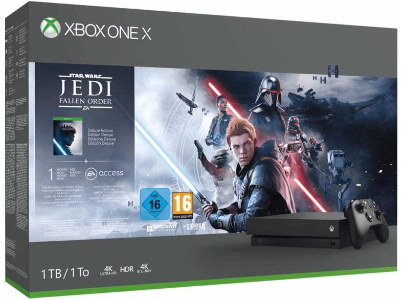Microsoft Xbox One X, 1 TB + Star Esta: Jedi Fallen Order