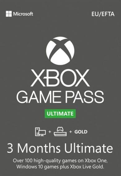 Xbox Game Pass Ultimate – 3 Meses de Suscripción (Xbox/Win10)