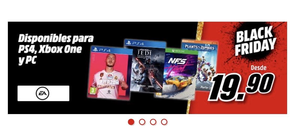 Juegos con rebajas Mediamarkt