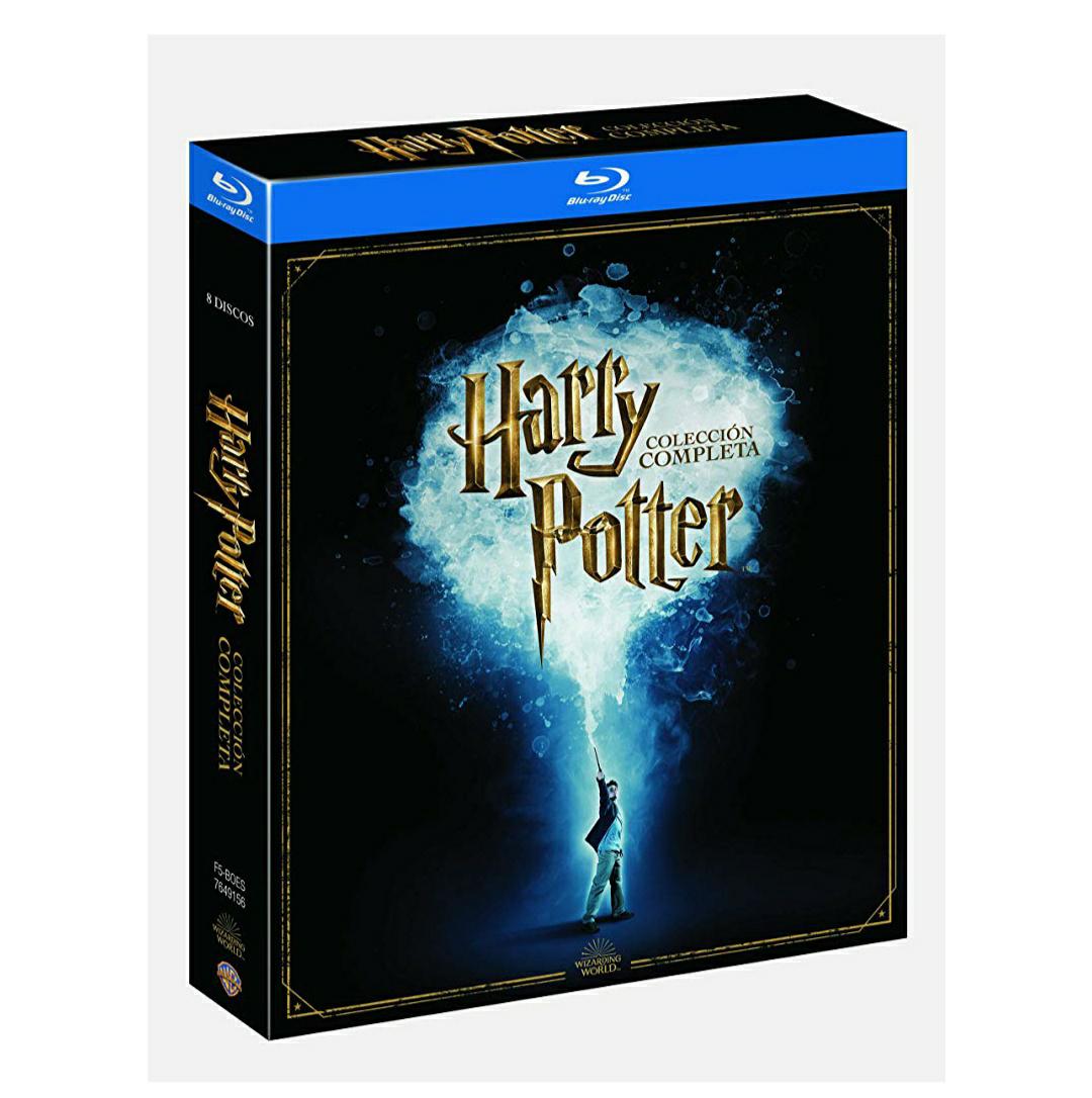 Colección Blu-ray Saga Harry Potter