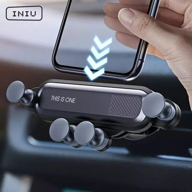 Soporte de coche de gravedad para móvil