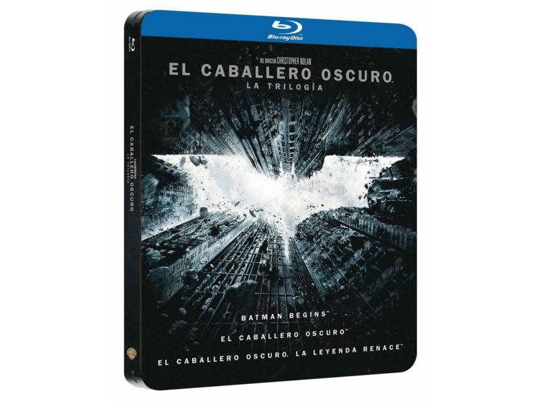 El caballero oscuro Steelbook - Trilogía Blu-Ray
