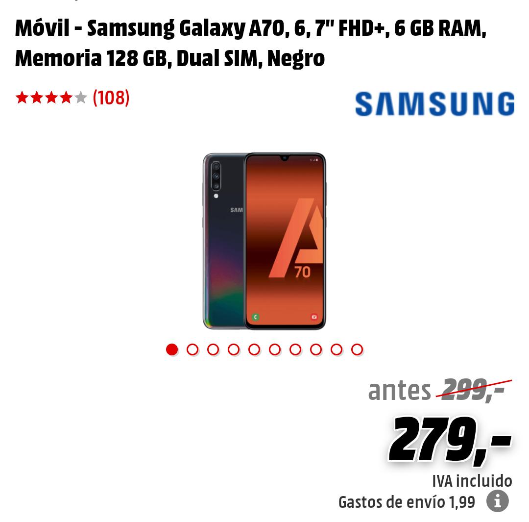 Samsung A70 6GB/128GB