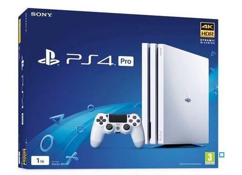 PS4 PRO 1T Blanca, PS4 SLIM 500 GB blanca