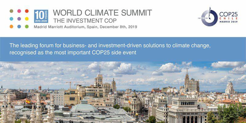 World Climate Summit 2019 [Evento-Madrid]