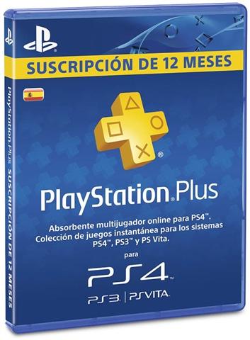 Playstation Plus 365 días (AlCampo)