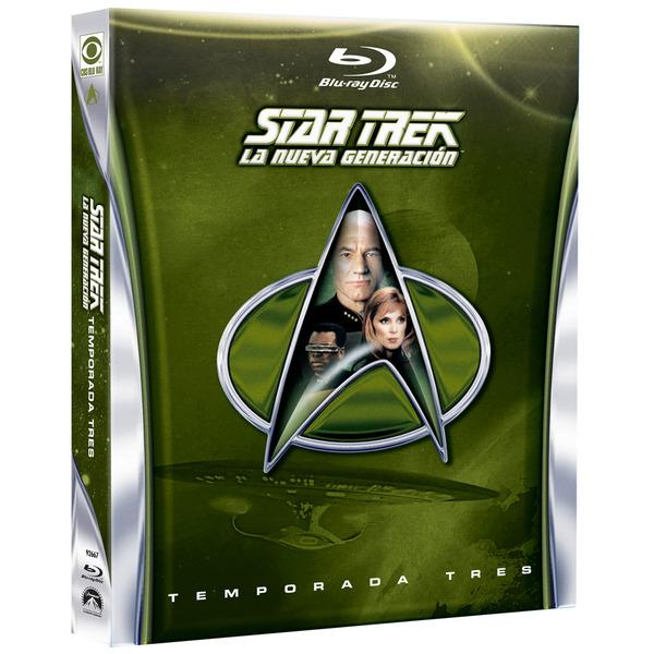 Star Trek: La Nueva Generación. Temporadas 2-7 (Blu-Ray)