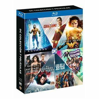 Pack DC bluray - colección 7 películas
