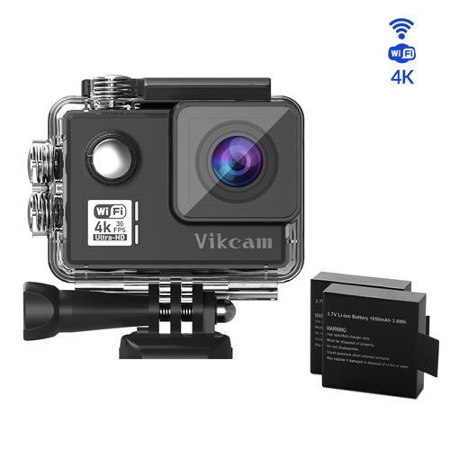 Vikcam V50 Cámara deportiva 4k