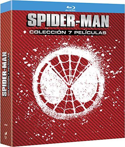 Pack Spider-Man 7 Peliculas Blu-Ray