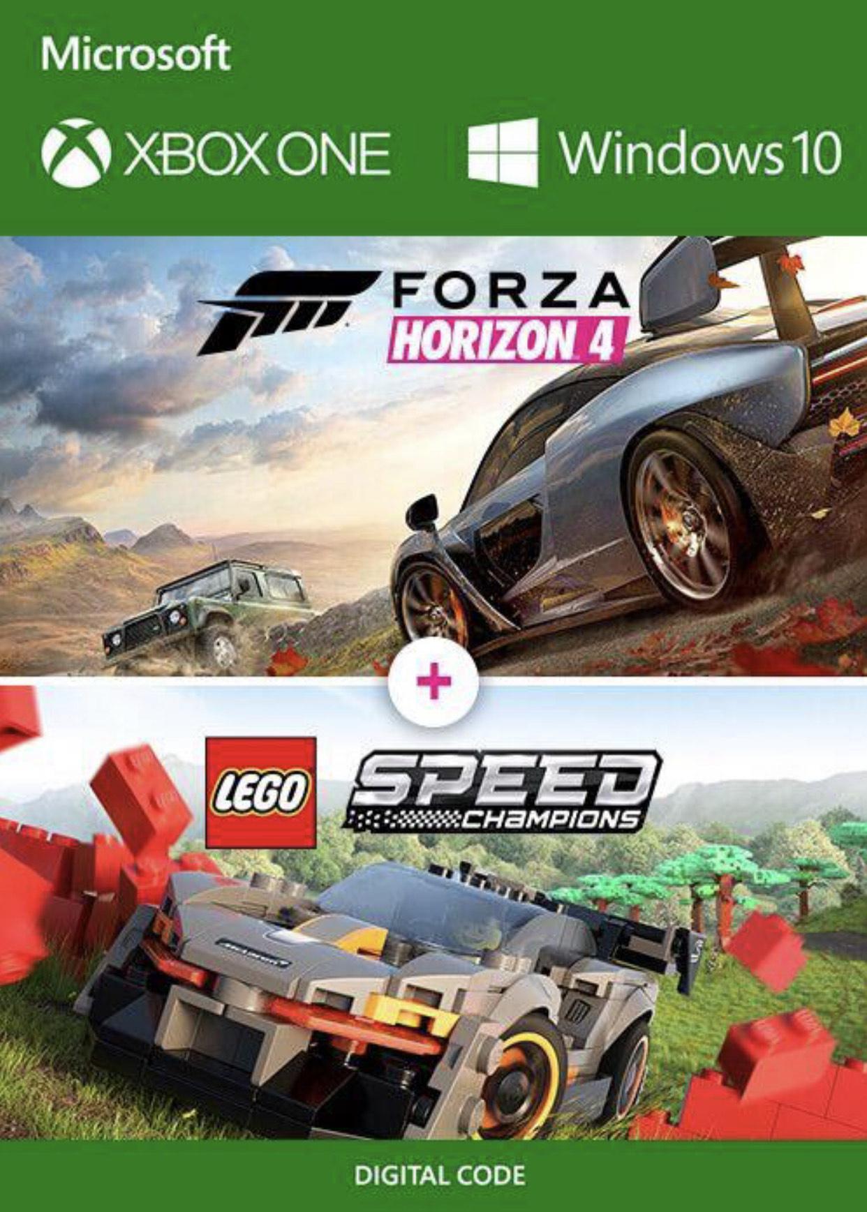 Forza Horizon 4 + Lego Speed Champions (Xbox One / PC)