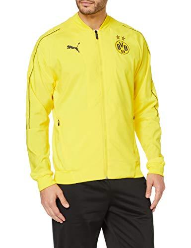 TALLA XL - PUMA BVB Leisure Jacket Without Sponsor Logo, Chaqueta, Hombre