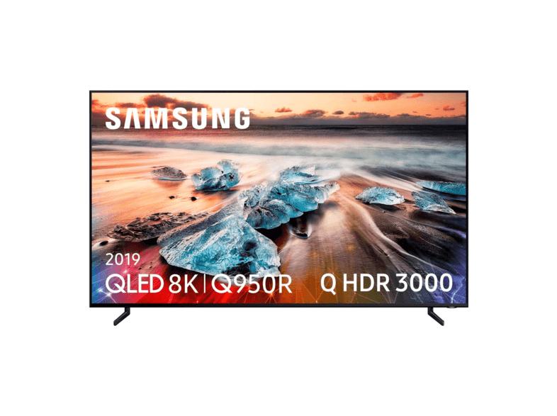"TV 8K QLED 55"" - Samsung QE55Q950, 8K, HDR Q 3000, Quantum Processor 8K, Direct Full Array Elite"