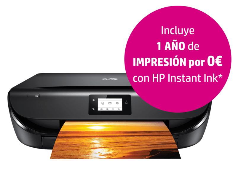 Impresora HP envy 5020 + instant ink 1 año