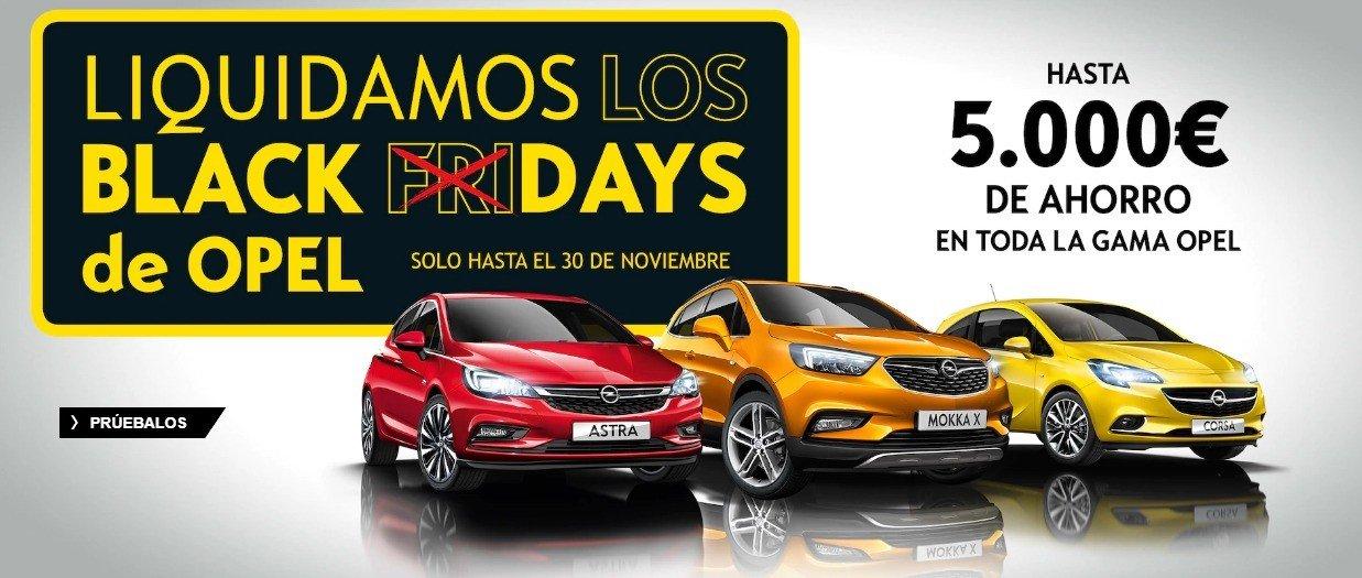 Descuento de hasta 5,000€ en Opel