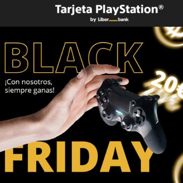 20€ saldo PS GRATIS al gastar 100€ con tarjeta Playstation (si ya la tienes)