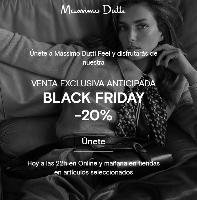 -20% en Massimo Dutti